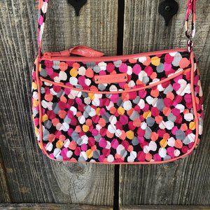 Vera Bradley PIxie Blooms small Crossbody purse